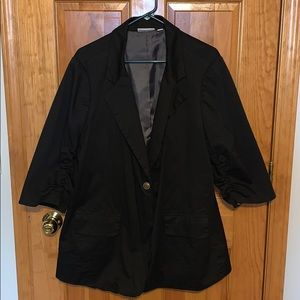 Black 3/4 Blazer